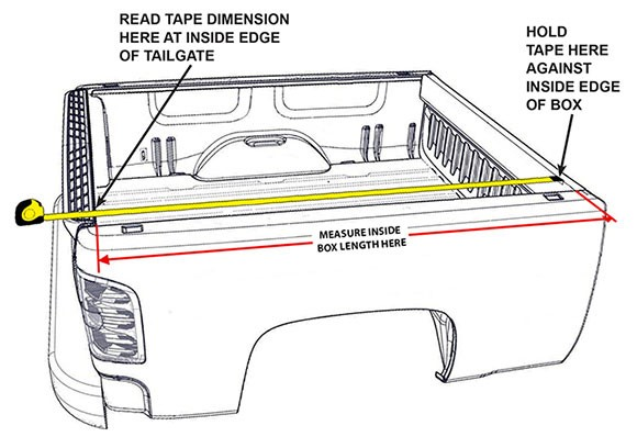 Lovely How To Measure Your Truck Bed For Tonneau Covers