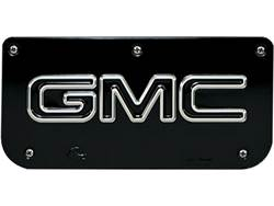 Picture of Single GMC Black Wrap Plate With Screws For 12