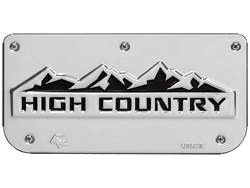 Picture of Single High Country Plate With Screws For 12