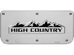 Picture of Single High Country Plate With Screws For 14