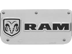 Picture of Single RAM Horizontal Logo Plate With Screws For 12