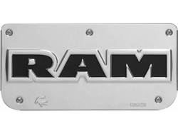 Picture of Single RAM Text Plate With Screws For 12