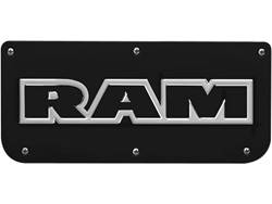 Picture of Single RAM Text Black Wrap Plate With Screws For 14