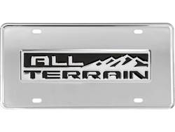 Picture of Gatorgear GMC All-Terrain Logo License Plate