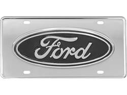 Picture of Gatorgear Ford Black Oval Logo License Plate