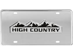 Picture of Gatorgear Chevy High Country Logo License Plate