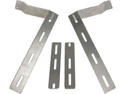 "Picture of Universal HD Single Rear Wheel ""L"" Mud Flap Brackets"