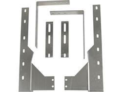 """Universal-Fit Mounting Brackets - Dually Rear - Use With 19-21"""" Dually Flaps"""