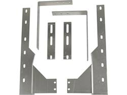 "Universal-Fit Mounting Brackets - Dually Rear - Use With 19-21"" Dually Flaps"