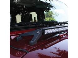 Westin Jeep HD LED Cowl Light Bar Mount