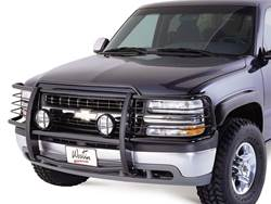 Westin Sportsman Grille Guard - Black - Installed