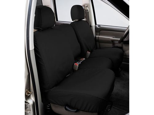 Picture Of Seatsaver Custom Seat Cover Polycotton Charcoal W 50