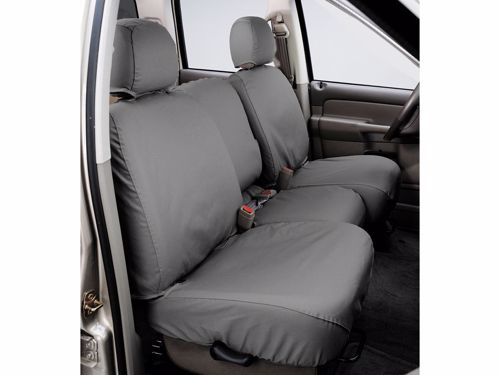 Super Seatsaver Custom Seat Cover Polycotton Gray Silver W 40 20 40 Bench Seat W Adj Headrest W Fold Down Console Crew Cab Dailytribune Chair Design For Home Dailytribuneorg