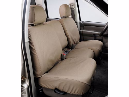 Brilliant Seatsaver Custom Seat Cover Polycotton Taupe W 60 40 Bench Seat W Adjustable Headrest W Fold Down Center Console Not Covered Uwap Interior Chair Design Uwaporg