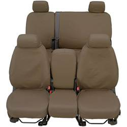 Covercraft SeatSaver Custom Waterproof Polyester Seat Cover - Taupe