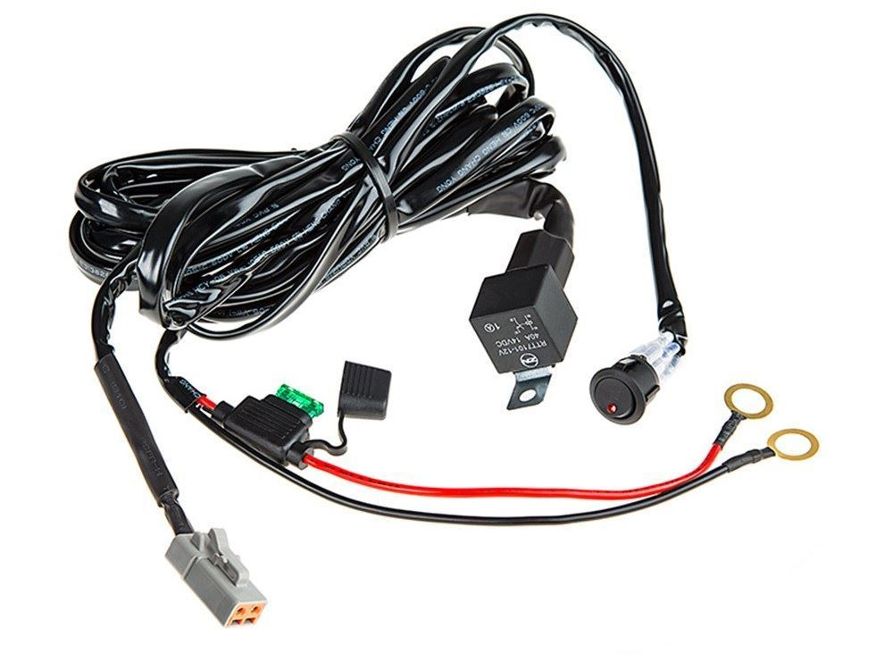 0055214_totron wiring harness switch kit brackets & accessories sharptruck com Aircraft Electrical Harness at couponss.co