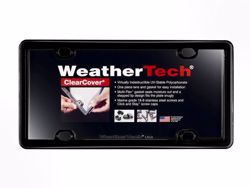 WeatherTech ClearCover License Plate Frame