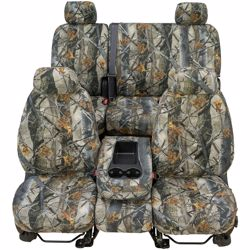 CoverCraft SeatSaver Custom True Timber Camo Seat Cover - 3D Image