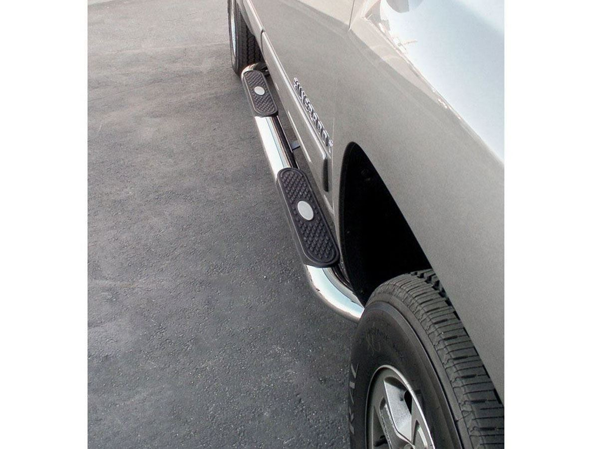Aries Running Boards >> The Standard 4 in. Oval Nerf Bar - SharpTruck.com