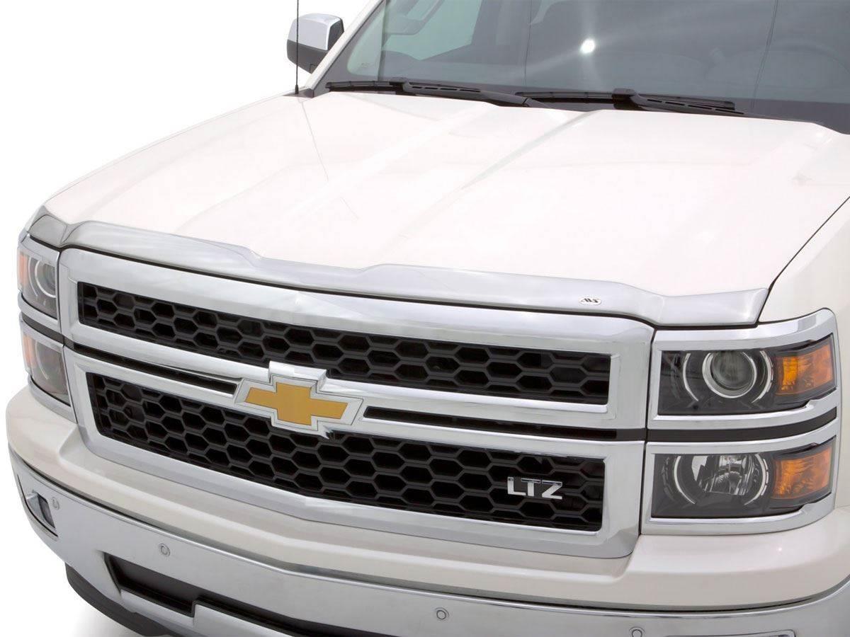 For 14-19 Silverado Double Cab Window Deflectors Vents ... |White Silverado Window Deflectors