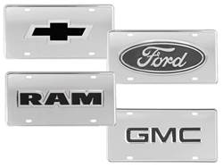 Picture of Truck Hardware Logo License Plate