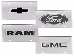 Picture of Truck Hardware Logo License Plates