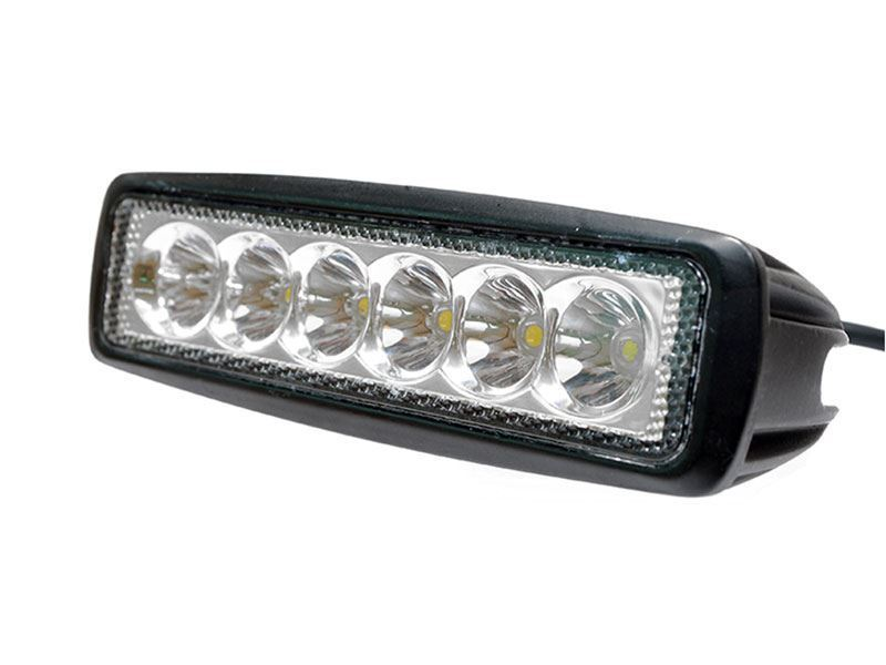 Totron 6 18w single row cree led light bar spot beam t1218 spot picture of 6 aloadofball Images
