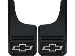 Picture of Truck Hardware Gatorback Mud Flaps - Chevy Black Bowtie With Black Wrap