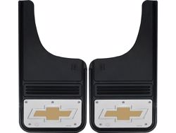 Picture of Truck Hardware Gatorback Mud Flaps - Chevy Gold Bowtie Logo