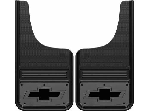 Picture of Truck Hardware Gatorback Mud Flaps - Chevy Bowtie With Gunmetal Finish