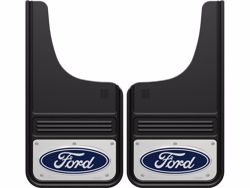 Picture of Truck Hardware Gatorback Mud Flaps - Ford Blue Oval Logo