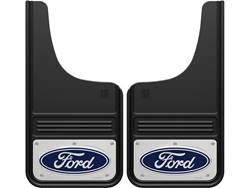 Picture of Truck Hardware Gatorback Mud Flaps - Ford Blue Oval