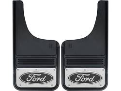 Picture of Truck Hardware Gatorback Mud Flaps - Ford Black Oval