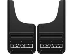 Picture of Truck Hardware Gatorback Mud Flaps - RAM Text With Black Wrap