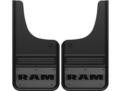 Picture of Truck Hardware Gatorback Mud Flaps - RAM Text With Gunmetal Finish