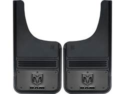 Picture of Truck Hardware Gatorback Mud Flaps - RAM Vertical With Gunmetal Finish