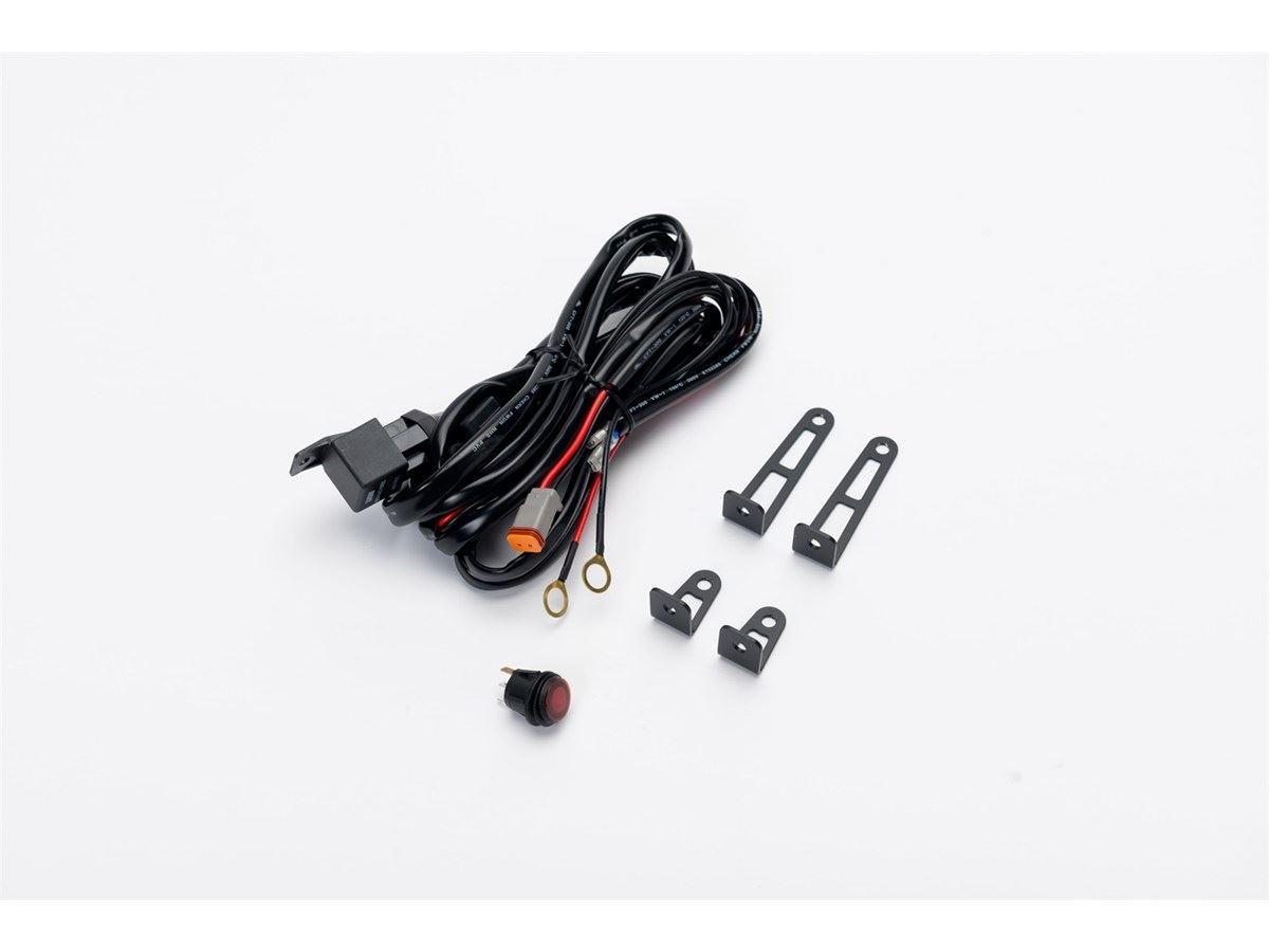 putco wire harness luminix led light bar light duty. Black Bedroom Furniture Sets. Home Design Ideas