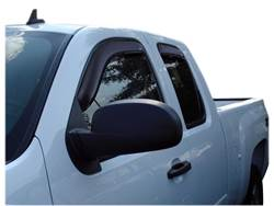 Picture of Ventvisor In-Channel Deflectors - 4 Piece - Smoke - Extended Cab