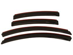 Picture of AVS Ventvisor In-Channel Deflectors - 4 Piece - Smoke - Sedan