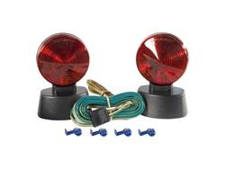 Picture of Magnetic Base Towing Light Kit - Includes 20 ft. Cord w/4-Way Flat Plug - Storage Case