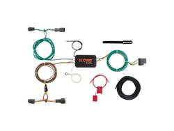 Picture of Curt 4-Way Flat Wiring Connector - Vehicle To Trailer Connector