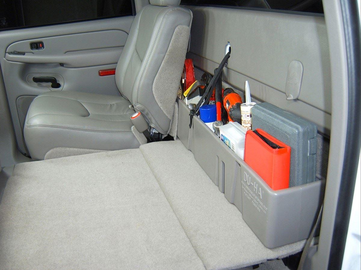 Du Ha Behind The Seat Storage Black 10013 Sharptruck Com