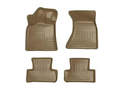 Picture of WeatherBeater Floor Liner - Tan - 2 Piece Front/2 Piece Rear
