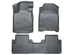 Picture of WeatherBeater Floor Liner - Gray - 2 Piece Front/2 Piece Rear