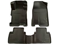 Picture of WeatherBeater Floor Liner - Black - 2 Piece Front/1 Piece Rear