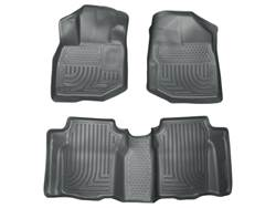 Picture of WeatherBeater Floor Liner - Gray - 2 Piece Front/1 Piece Rear