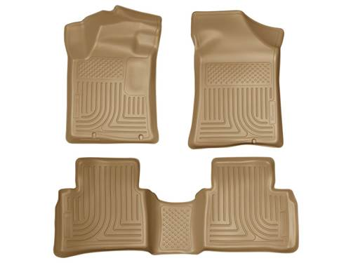 Picture of WeatherBeater Floor Liner - Tan - 2 Piece Front/1 Piece Rear - Made On or Before 10-31-12