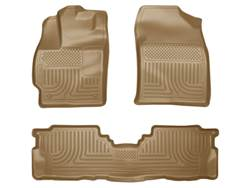 Picture of WeatherBeater Floor Liner - Tan - 2 Piece Front/1 Piece Rear
