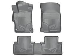 Picture of WeatherBeater Floor Liner - Gray - 2 Piece Front/1 Piece Rear - Sedan