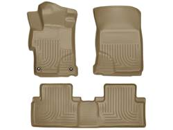 Picture of WeatherBeater Floor Liner - Tan - 2 Piece Front/1 Piece Rear - Sedan